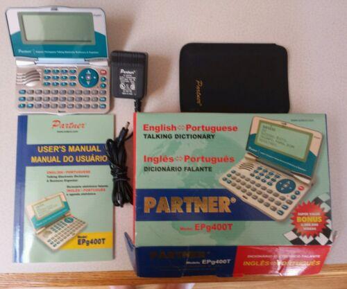 Ectaco EPG400T English Portuguese Ingles Portuguese Portable Translation tablet