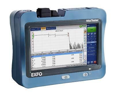Exfo Max Tester Max-715b-m1-ea Fiber Optic Tester
