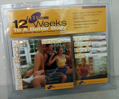 iFIT Exercise 12 Weeks To A Better Body Complete Set Aerobic, Strength,