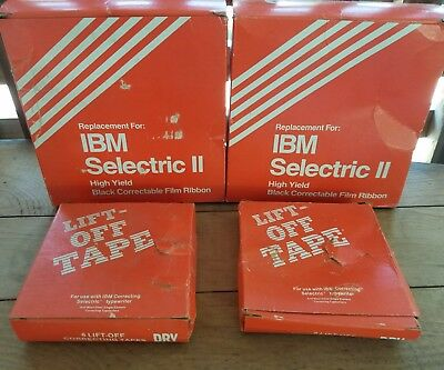 Nos 9 Vintage Ibm Selectric Ii High Yield Correctable Ribbon 10 Lift-off Tape