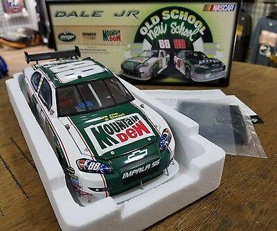 DALE EARNHARDT JR 2008 #88 MOUNTAIN DEW RETRO 1:24 NASCAR DIECAST New in Box