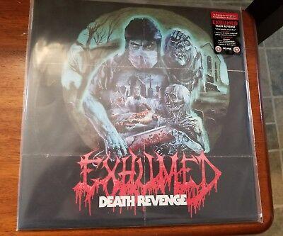 Exhumed Death Revenge Ltd blood bone splatter  250 only gore death metal preordr