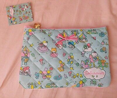 Sanrio Characters Accessory Cosmetic Pouch Sanrio Original Pastel Kawaii Cute