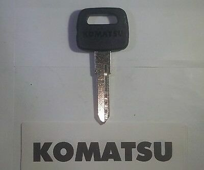 1 Komatsu 8 Key Equipment Key Fits Many Models Komatsu Equipment Ships Fast