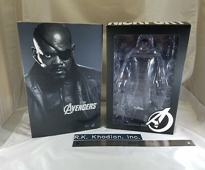 Genuine Hot Toys 1/6 MMS169 Nick Fury action Figure