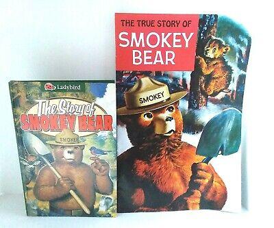VTG Story of SMOKEY BEAR Comic BOOK LOT 1996 1969 Western Publish Ladybird