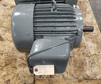 Electric Motor 10-20 Hp 3 Phase 480v 3266sr