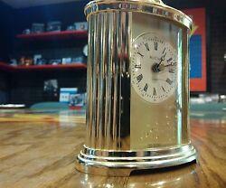 Bulova B-1344 Quartz Desk Top Alarm Clock West Germany