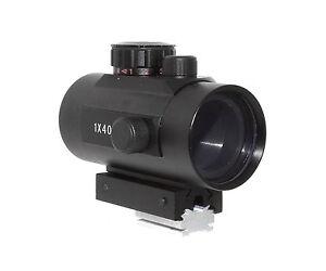TS-Optics Leuchtpunktsucher mit Blitzschuhadapter für DSLR Kamera,RD1x40-DSL