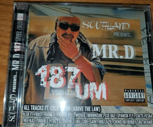 MR.D MISTER D SOUTHLAND 187UM THE ALBUM new 2020 EXCLUSIVE RELEASE