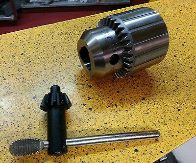 Jacobs 14865 36kd Heavy Duty Plain Bearing Keyed Chuck