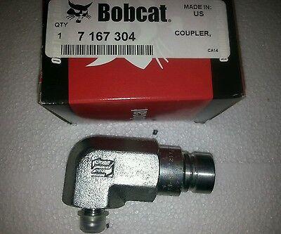 New Oem Bobcat Male Coupler Pn 7167304