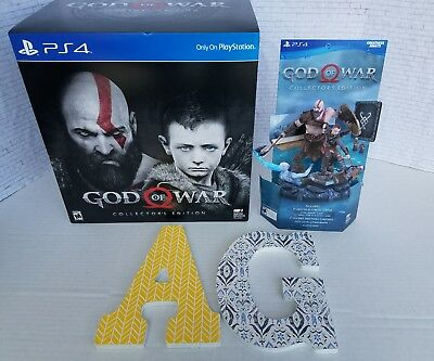 God Of War Collectors Edition  New  Immaculate  Comes With Promotional Statue