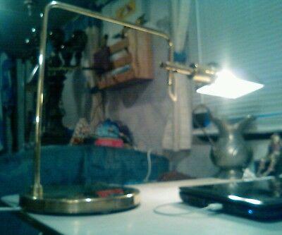 George Nelson for Koch Lowy eye shade articulating table desk lamp (Nelson Eye)
