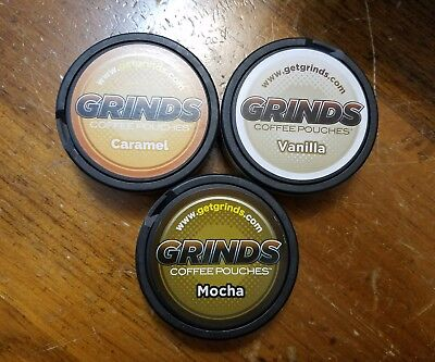 3 Packs Of Coffee Grinds Coffee Pouches As Seen On Shark Tank New V M C