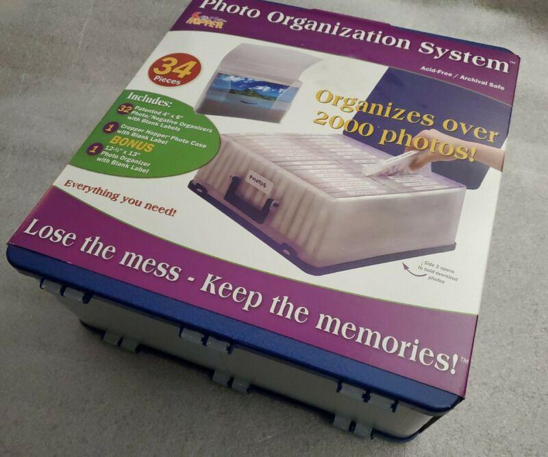 Cropper Hopper Photo Organizer Storage Case Acid Free Organization System NEW