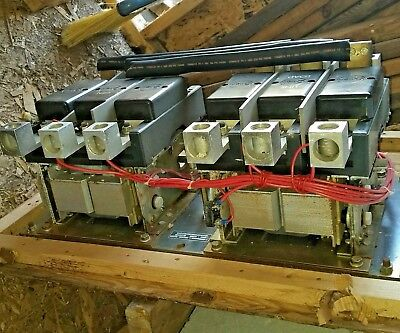 400 Amp 208240 Volt Coils 3 Phase 307-1208 Onan Transfer Switch Contactor Nos