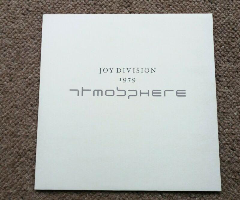 "Rare Joy Division Atmosphere 1979 12"" Fac213 The Only Mistake Sound of Music"