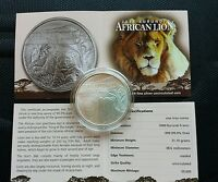 Moneda De 1 Onza De Plata León De Burundi 2015 - African Lion -  - ebay.es