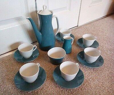 ⭐Rare RORSTRAND 'Stella' Porcelain COFFEE SET - Swedish, 50s Scandinavian Design