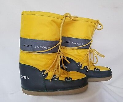 Marc By Marc Jacobs Moon Boots Lace Up Snow Boots Size Medium