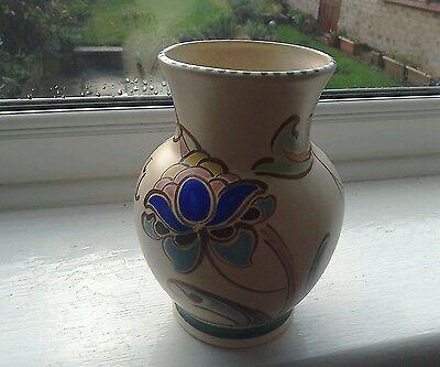 """Large, pretty Honiton """"Ashton"""" vase"""