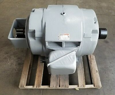 Reliance 100 Hp Electric Motor Dual Shaft P44g357d 3329sr
