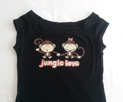 "Très Bien Girls Black ""Jungle Love"" Shirt"