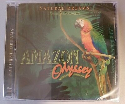Natural Dreams Music Relaxation Amazon Rainforest Odyssey Cd New Zen Peaceful