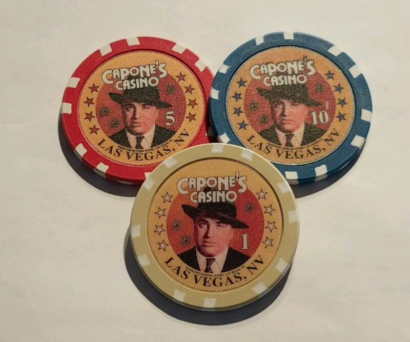 SET 6 CHIPS CAPONE
