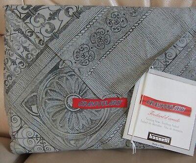 Granfoulard Bassetti 180x270 CARRÉ grigio copritutto telo copridivano tenda grey