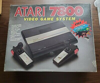 Atari 7800 Console BOX ONLY - No System Included