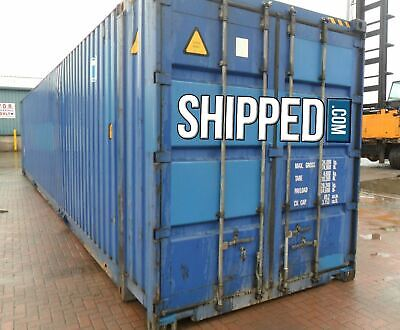Huge 45ft High Cube Certified Cargo Worthy Sea Worthy Shipping Container