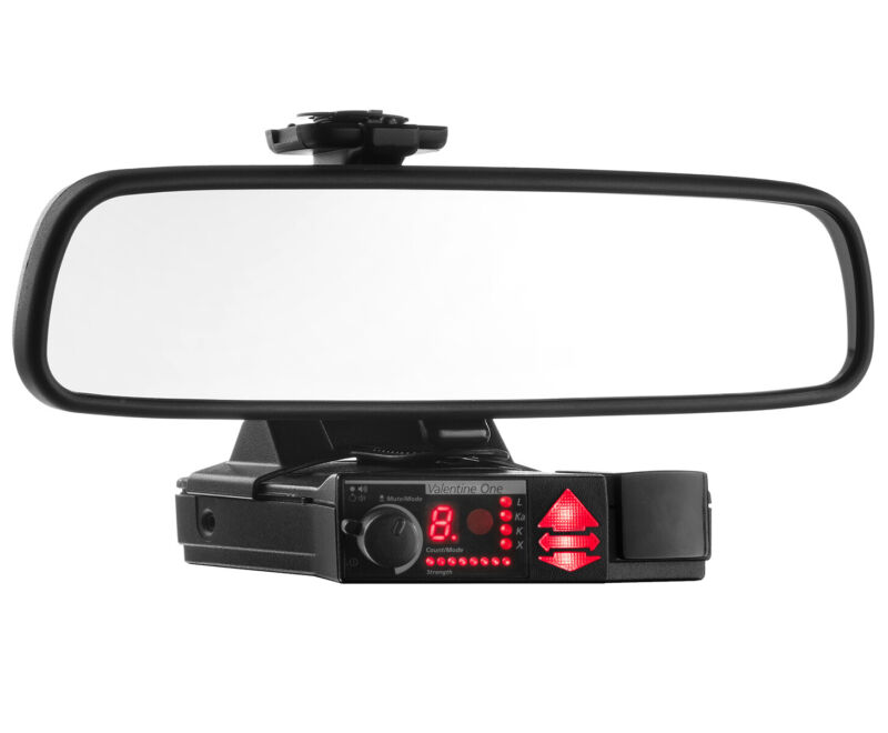 Mirror Mount Radar Detector Bracket for Valentine V1