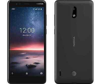 Nokia 3.1A TA1140 32GB AT&T LTE Smartphone Black (AT&T)
