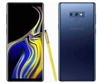 Unlocked Samsung Galaxy Note9 SM-N960U 128GB GSM Latest Smartphone - Ocean Blue