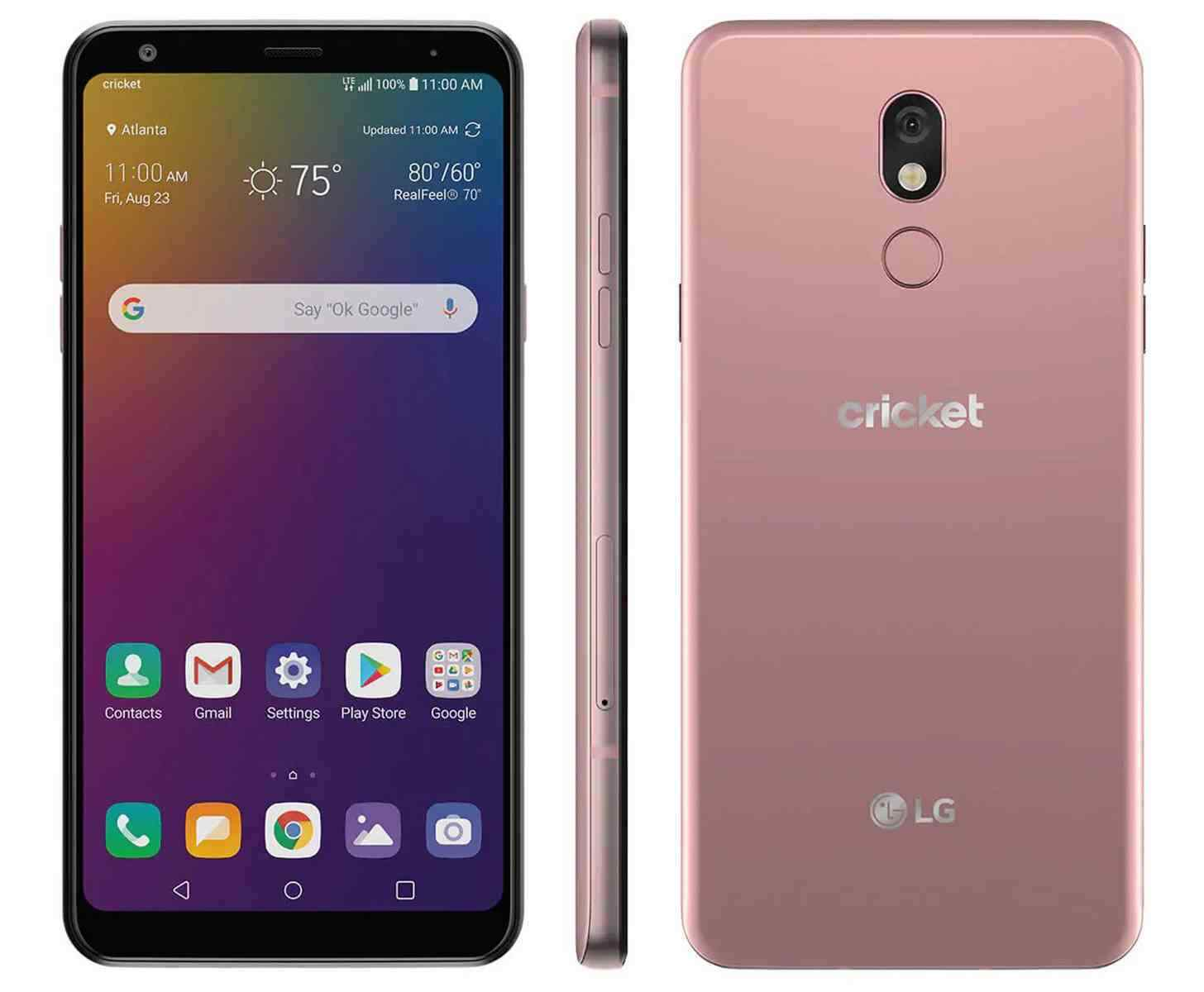 Android Phone - *Brand New* LG Stylo 5 CRICKET WIRELESS 32GB 4G LTE Android Blonde Rose *SEALED*
