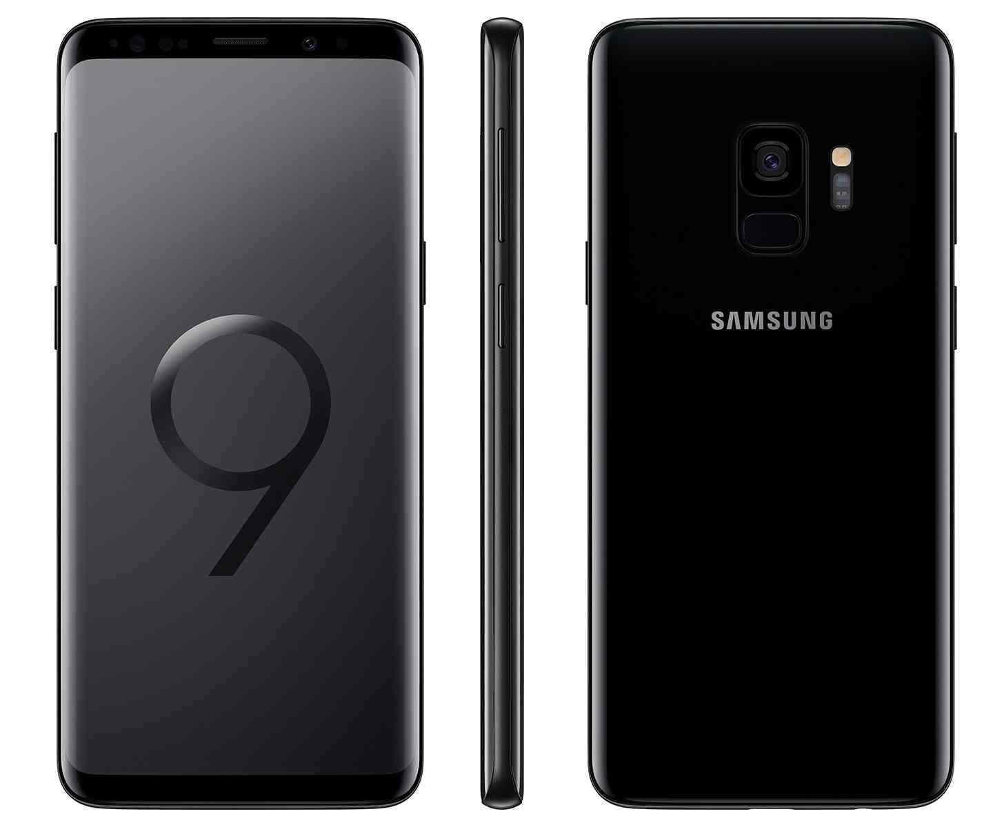 Samsung Galaxy S9  SM-G960U1 - 64GB - Midnight Black (Factory Unlocked) 9/10