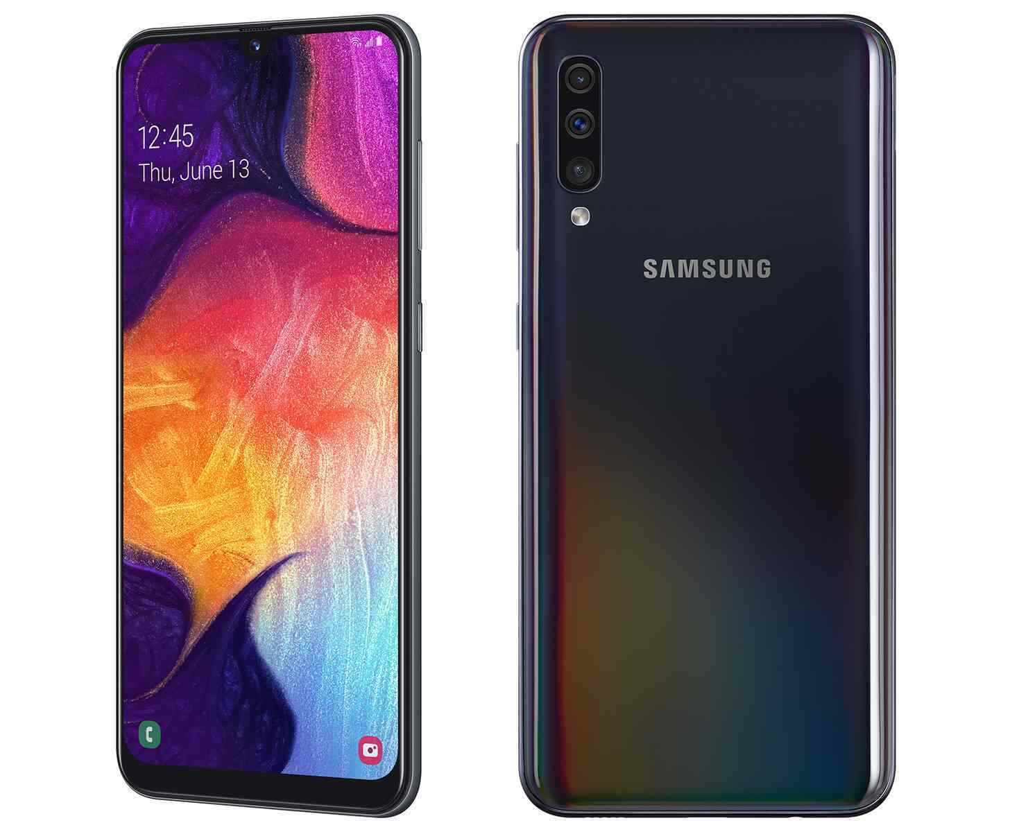 Android Phone - Samsung Galaxy A50 A505U Sprint  64GB T-mobile AT&T  Black B stock Unlocked