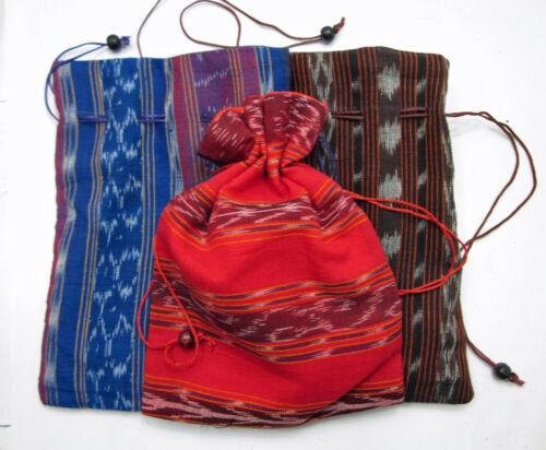 TIBETAN NUNS PROJECT BUDDHIST FULLY LINED MALA BAG HAND SEWN BY REFUGEE NUNS
