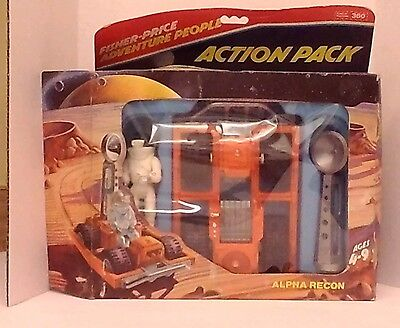 Fisher Price ADVENTURE PEOPLE Alpha Recon