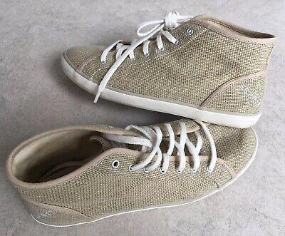 ESPRIT Freizeit-Schuhe, 39, Natur, Beige mit Gold-Glitter 👟+ - Glitter Gold Schuhe