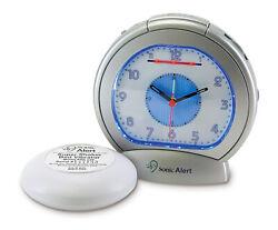 Sonic Bomb SBA475SS Sonic Boom Analog Alarm Clock