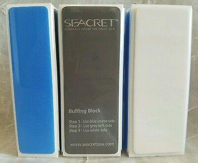 (SEACRET 4-Way Buffing Block Nail File *QTY 1* NEW * Buffer AMAZING PRODUCT)