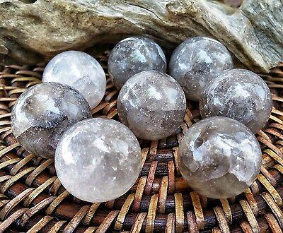 Smokey Quartz Stone Sphere  ~ For Crystal Healing , Reiki ~ SF15