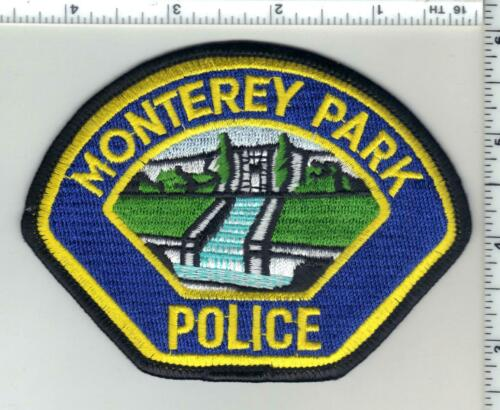 Monterey Park Police (California) 2nd Issue Shoulder Patch