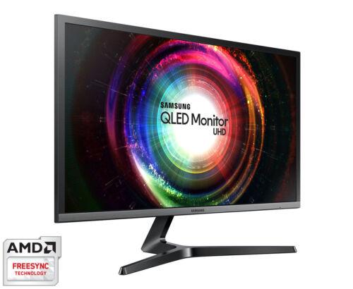 """New 28"""" Samsung U28H750 Quantum Dot UHD 3840x2160 4K 10 Bit"""