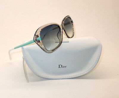 Christian Dior Chromatic F 6MFIT Women Sunglasses Transparent Square Gradient W8