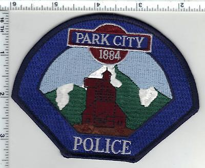 Park City Police (Utah) Shoulder Patch from the 1980's