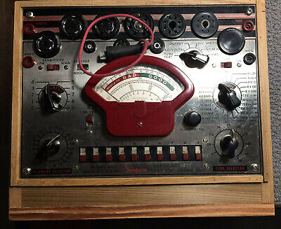 Vintage Simpson Tube Tester With Cheese Meter